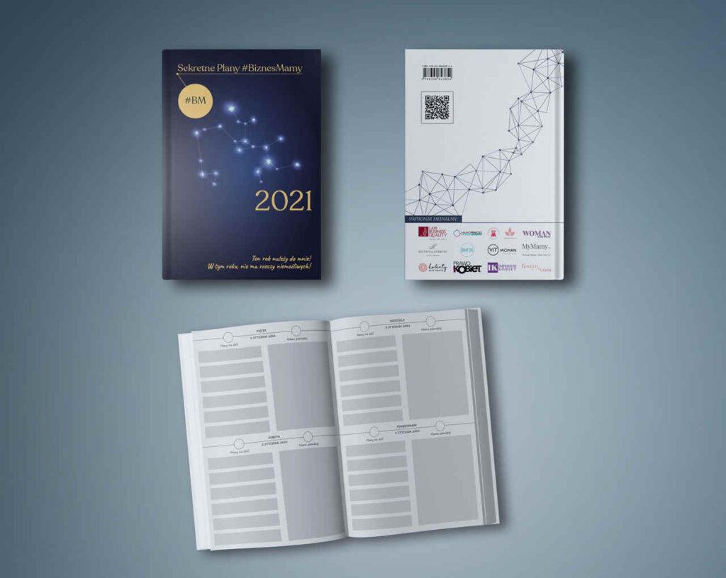 Sekretne Plany #BiznesMamy - kalendarz na 2021 rok!